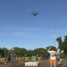 Drones helping to fight mites